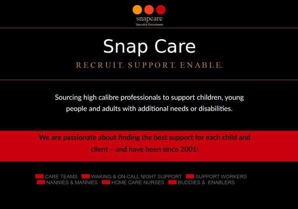 Snap Care Brochure