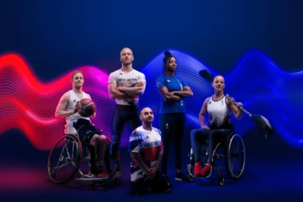 5 paralympians proudly face the camera