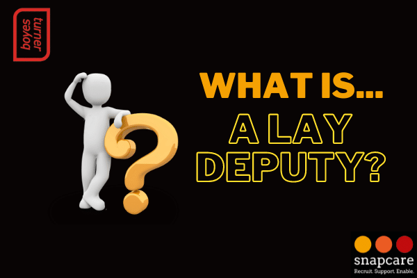 What is a lay deputy?